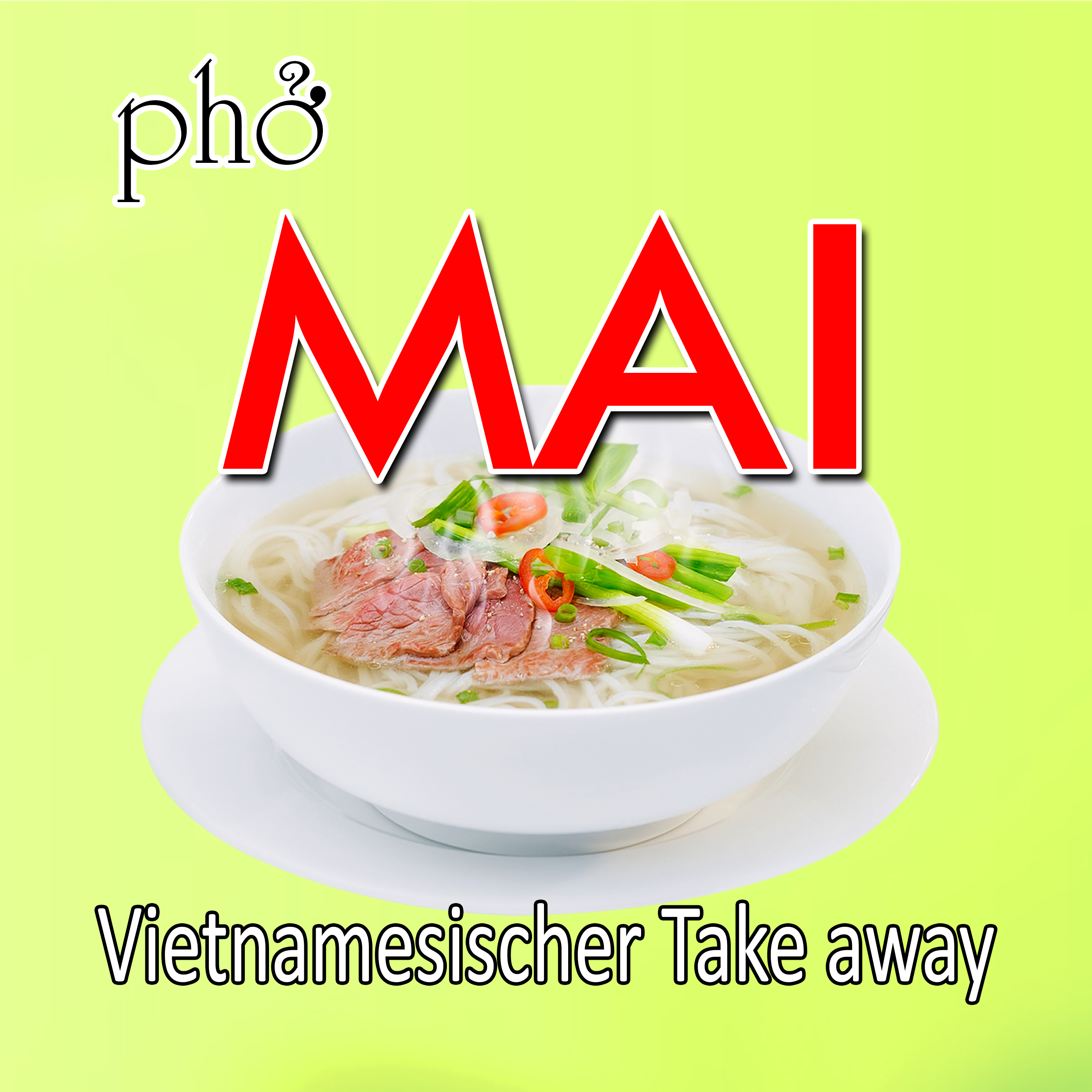 Vietnamesischer Take Away